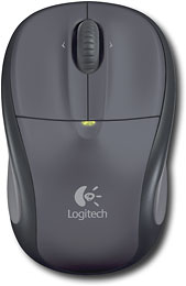 Logitech V220 Cordless Optical Laptop Mouse (Black) $7.99 FS @Best buy