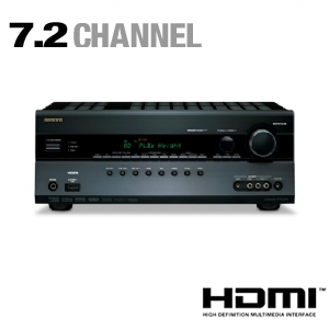 Onkyo HTRC260 7.2 Channel Home Theater Receiver $259.99 @Tigerdirect