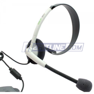 $5.99 Official Microsoft Wired Headset For Xbox 360 @MeritLine.com