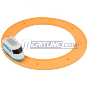Wind-up Train Track Set Tunnel Station, Color Varies $0.89 at MeritLine