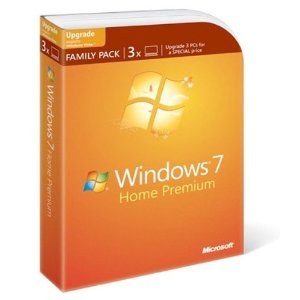 Amazon: Microsoft Windows 7 Home Premium Upgrade Family Pack $99.99 FS