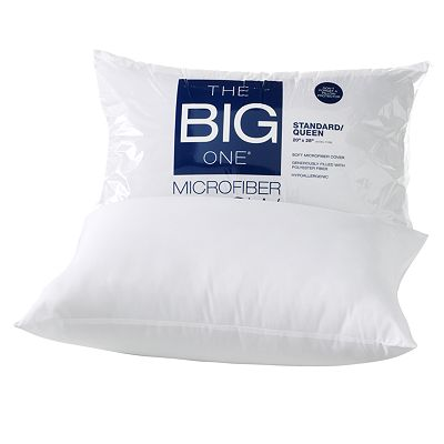 The Big One® Microfiber Pillow - Standard $4.25 shipped at Kohls