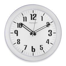 "Translucent 7"" Wall Clock in various color $3 @Bed Bath Beyond"