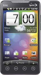 HTC - EVO 4G Mobile Phone - White (Sprint)