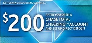 Chase Coupon Bonus