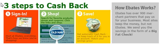 Ebates Cash Back Shopping