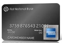 First National Bank Credit Card Bonus Promotion