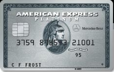Mercedes Benz Platinum AmEx Bonus