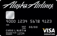 Alaska Airlines Bank of AMerica Rewards Promotion Card