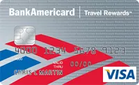 BankAmericard Travel Rewards Bonus Promotion