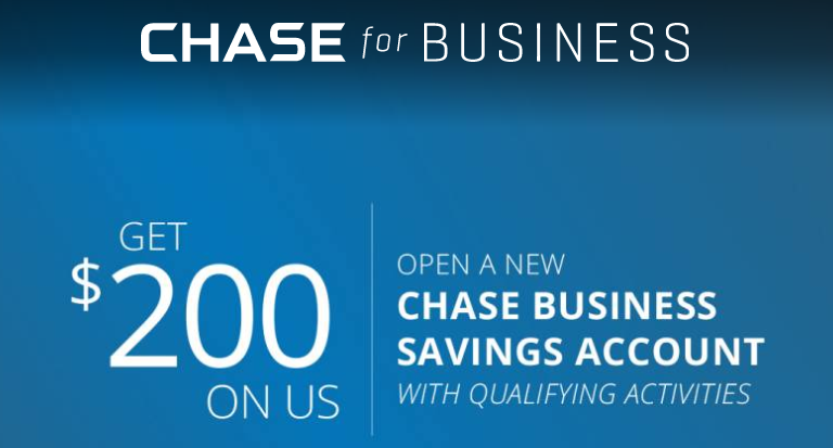 Chase for Business $200 Savings Bonus